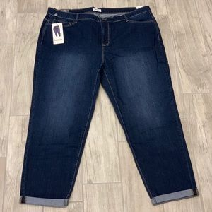 Kensie Jeans High Rise Slimming Jeans Plus Size 20
